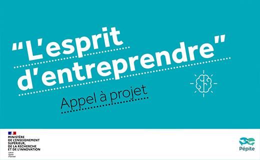 Appel à projet Esprit d'entreprendre : le PEPITE Beelys parmi les 9 projets d'excellence