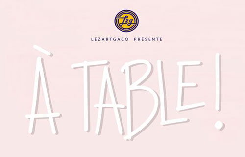 Spectacle A table