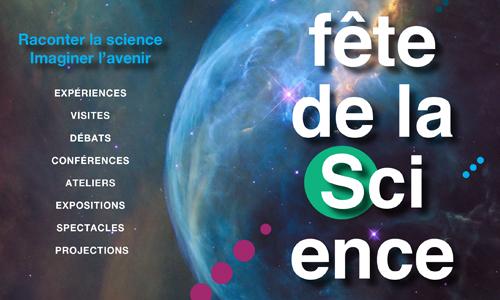 Visuel Fête de la Science