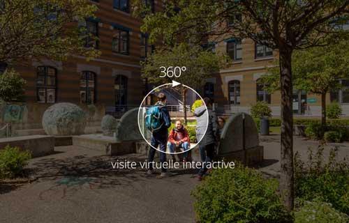 Visite virtuelle etudiante