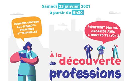 A la découverte des professions - édition 2021