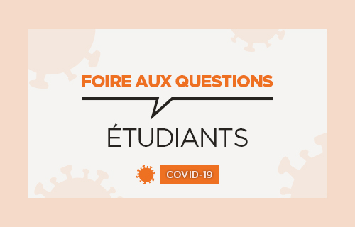 Accéder à la FAQ Covid des étudiants