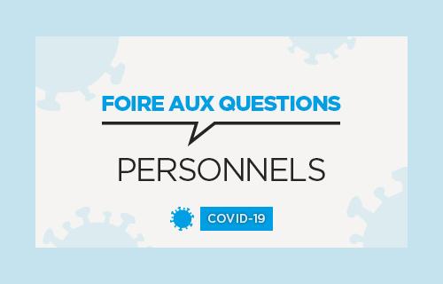 Accéder à la FAQ des personnels