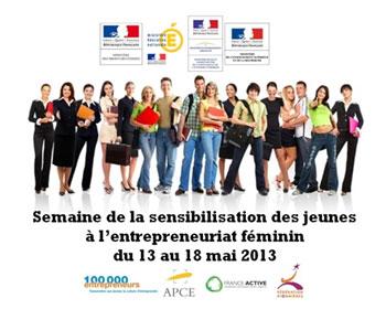 Visuel Semaine de l'entrepreneuriat au féminin