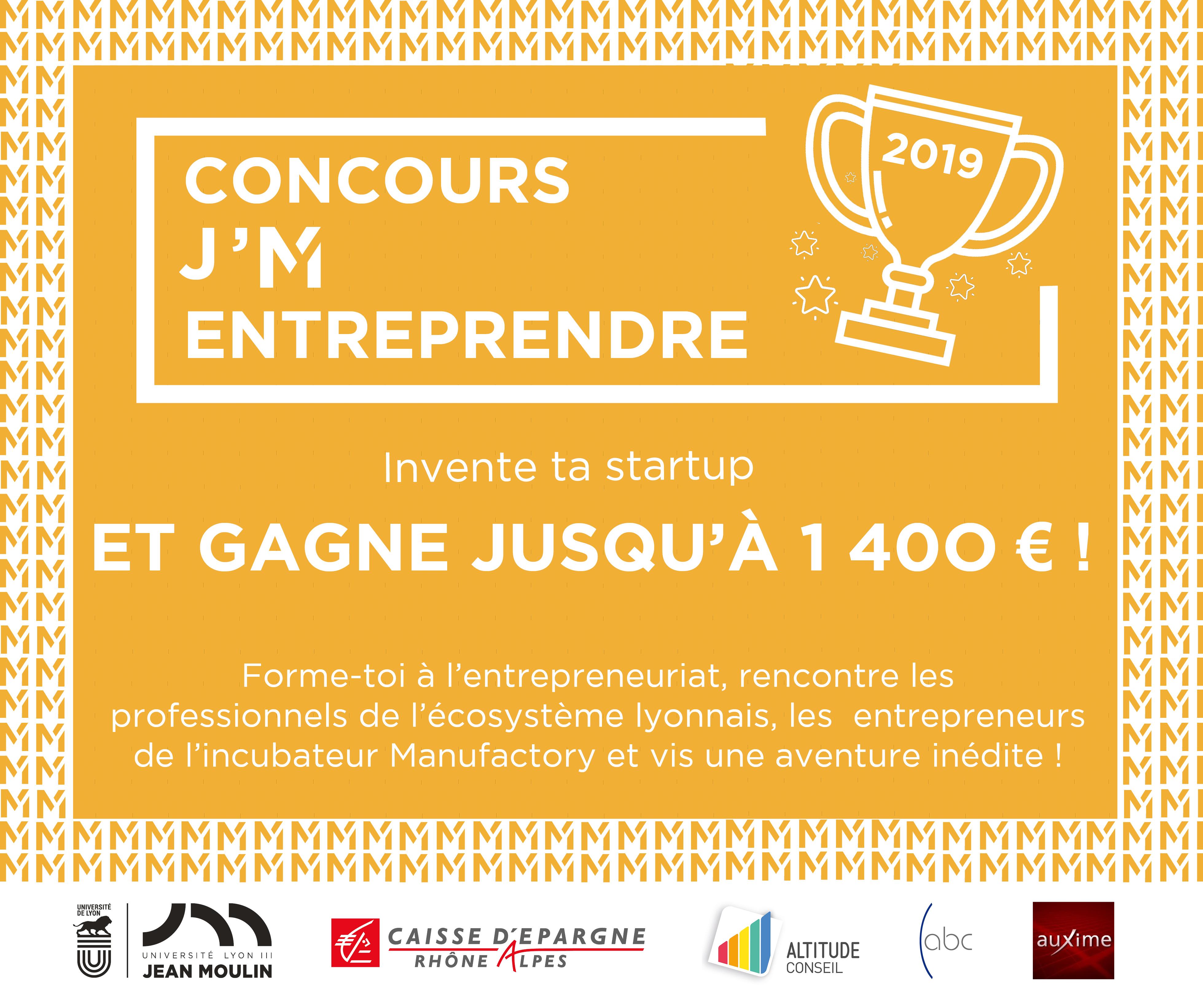 Concours J'M Entreprendre 2019
