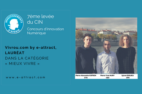 Vivrou, lauréat 7ème Concours d'Innovation Numérique