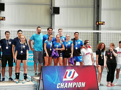 Volley-ball mixte Champions de France Universitaires 2019