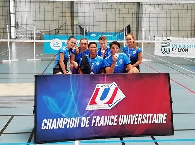 Volley-ball mixte Champions de France Universitaires 2019