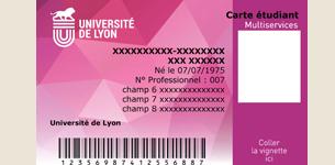 numero ine carte etudiante Votre carte d'étudiant   Université Jean Moulin Lyon 3